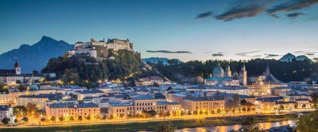 Stadt Salzburg - Ausflugsziele im Salzburger Land