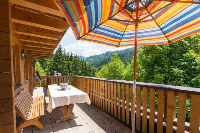 Balkon - Ferienwohnung Distelfink, Radstadt