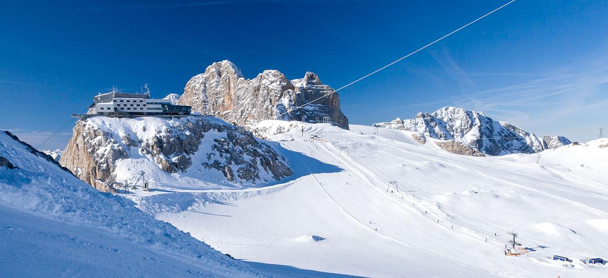 Dachstein-Gletscher - Ausflugsziele in Österreich