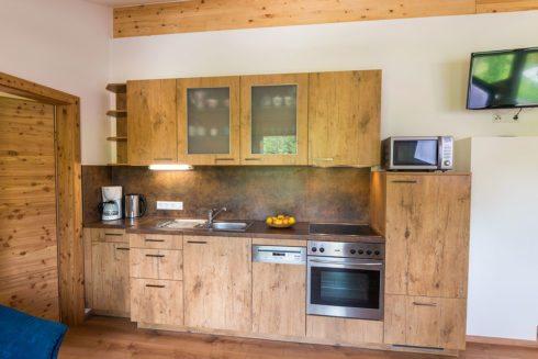 Küche - Ferienwohnung Auerhahn, Radstadt
