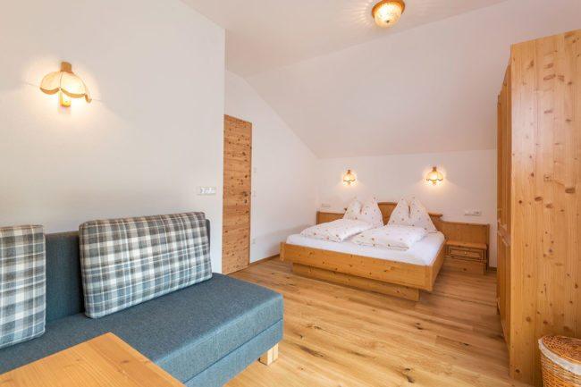 Schlafzimmer - Ferienwohnung Auerhahn, Radstadt