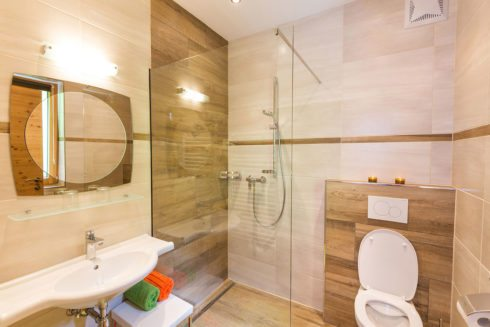 Badezimmer - Ferienwohnung Eichelhäher, Radstadt