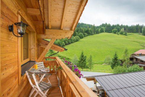 Balkon - Ferienwohnung Eichelhäher, Radstadt