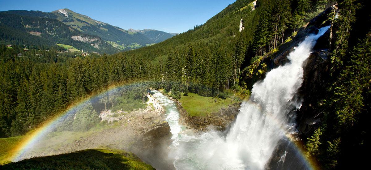 Krimmler Wasserfälle - Ausflugsziele im Salzburger Land