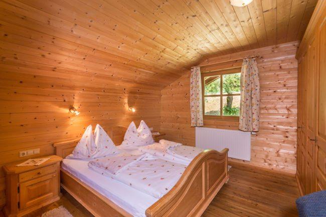Schlafzimmer - Ferienwohnung Buntspecht, Radstadt