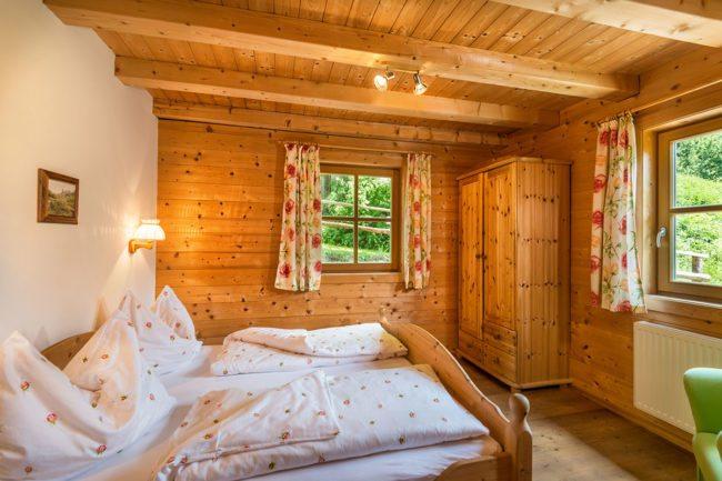Schlafzimmer - Ferienwohnung Distelfink, Radstadt