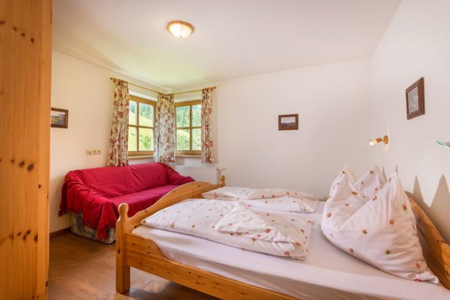 Schlafzimmer - Ferienwohnung Zeisig, Radstadt