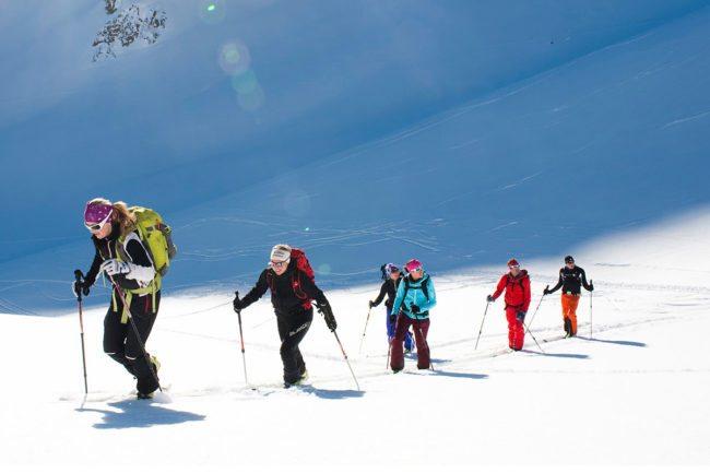 Skitouren - Winterurlaub im Salzburger Land