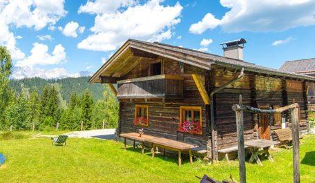 Urlaub auf der Alm - Steinwandalm, Almhütte im Salzburger Land
