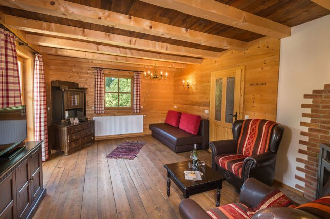 Wohnzimmer - Ferienwohnung Distelfink, Radstadt